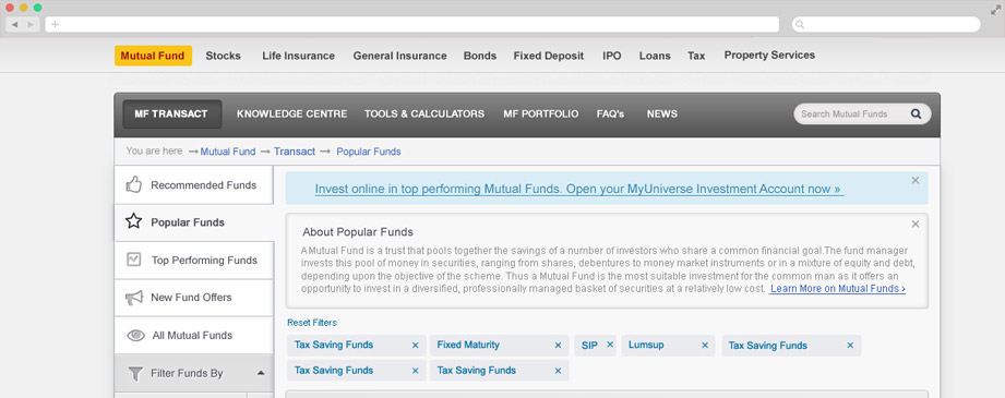 Select Top Funds